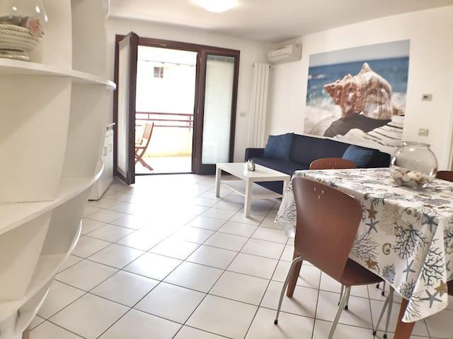Big nice flat in Center of Grado.