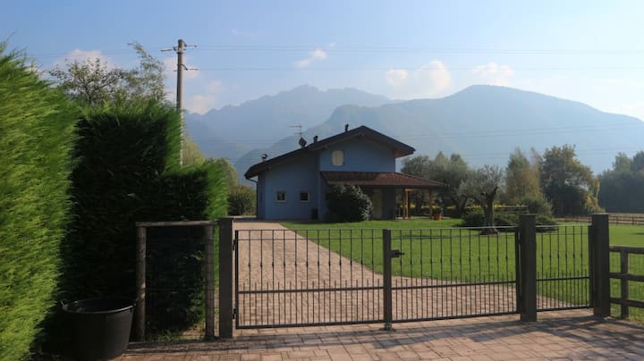 Beautiful Detached Alpine House close to Lake Idro