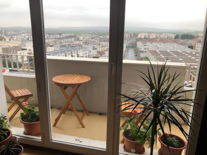 1bd apartment sharing