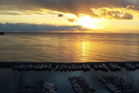 APARTMENT WI-FI FREE 50M.TO THE SEA - Alassio - Appartement