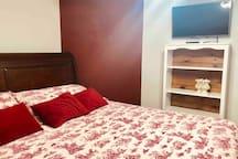 Red Bedroom.