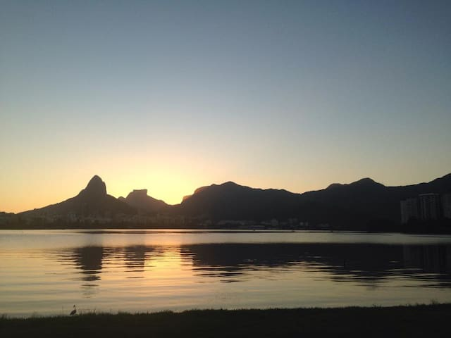 Aparment with Lagoa view - Rio de Janeiro - Huoneisto