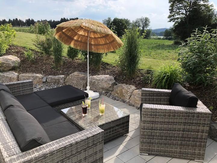 Ferienwohnung Heigle Ruschweiler NEU, mit Seesicht