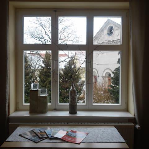 Maisonette in großem alten Bauernhaus