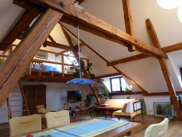 Exklusive & helle Wohnung + Garten