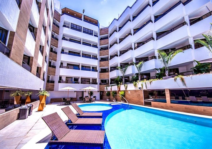GoldFlat Cabo Branco Estúdio 308