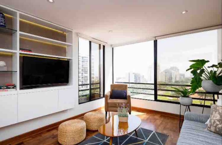Wonderful Golf View Apartment in San Isidro
