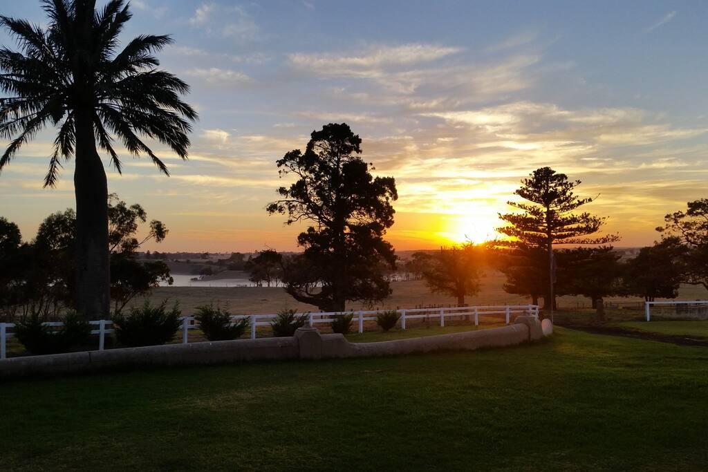 Sunrise 8th April 6.30am