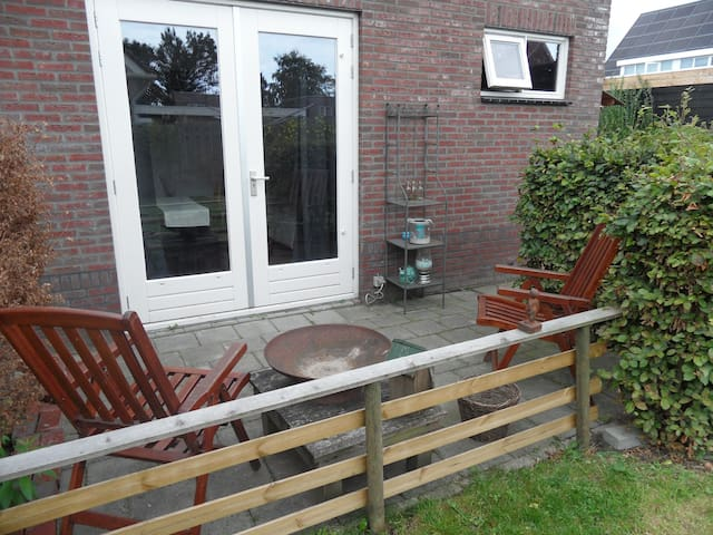 Klazienaveen, een familiekamer met eigen terras