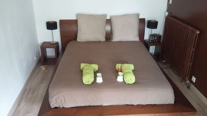 Chambre privée appart confortable - Angers - House