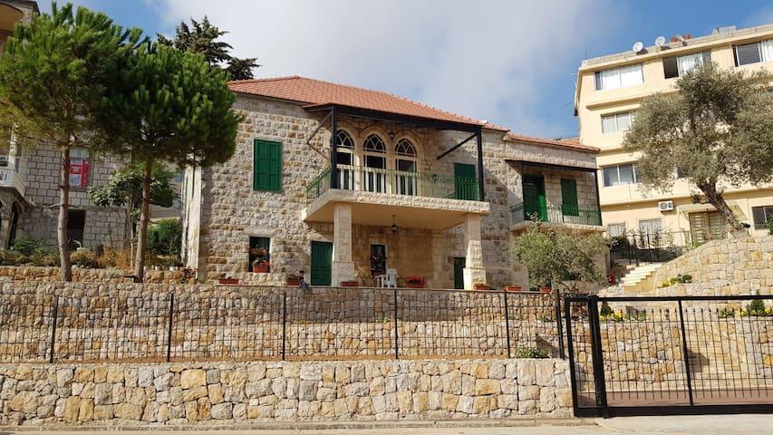 Typical Lebanese house