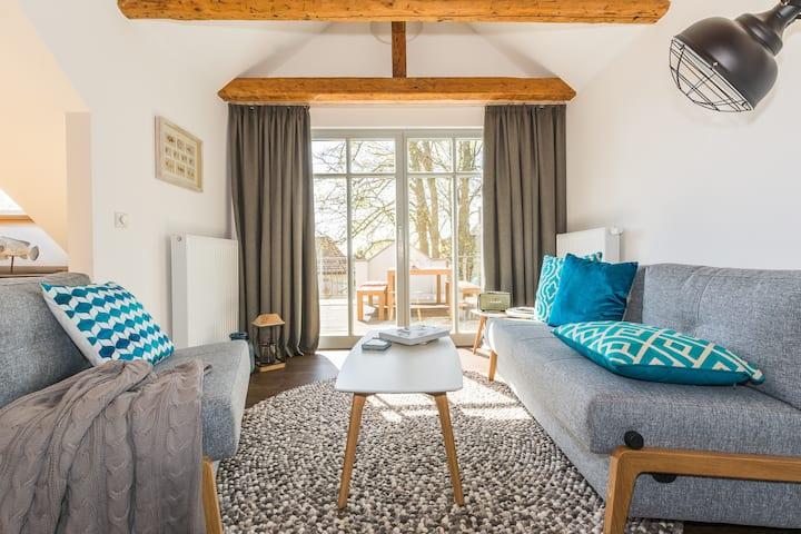 Traumhafte Wohnung mit Sauna - 100m vom Strand