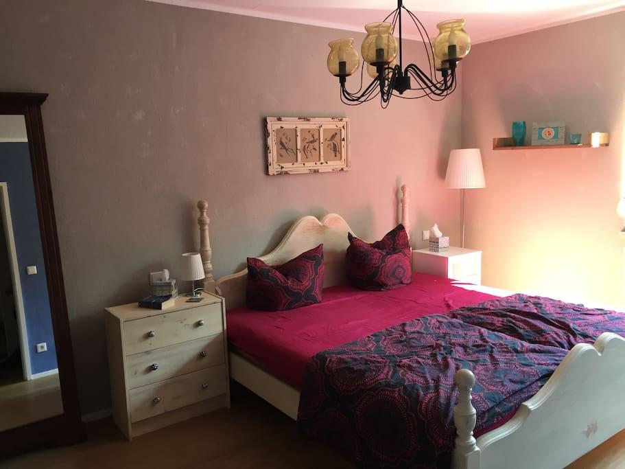 """""""Landhaus"""" style Bedroom."""