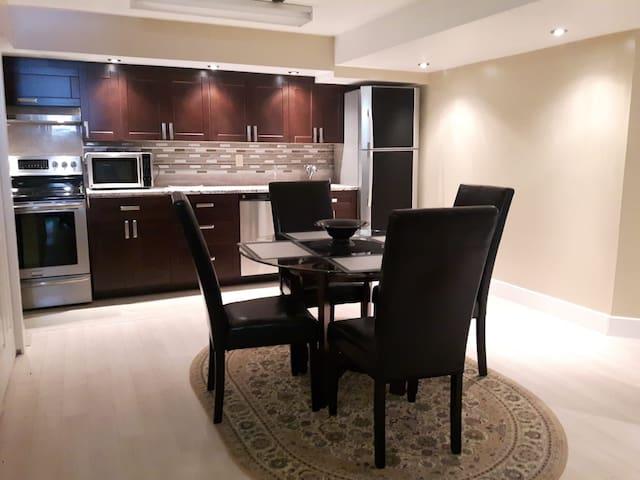 Modern 2 Bedroom Basement Suite in Clayton Park!