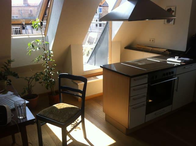 Süße 2 Zimmerwohnung mit Balkon - Stuttgart - Wohnung