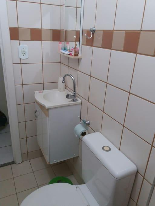 Banheiro individual e privativo