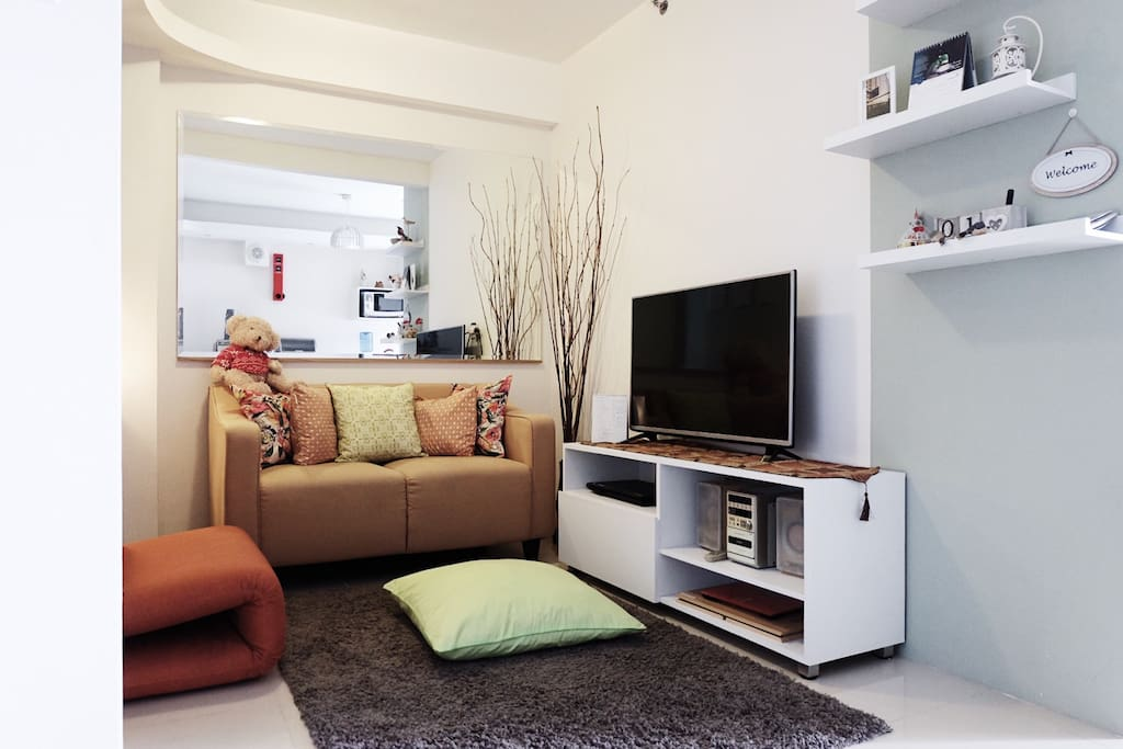 Sit back and relax in our Living room with 43 inch TV!