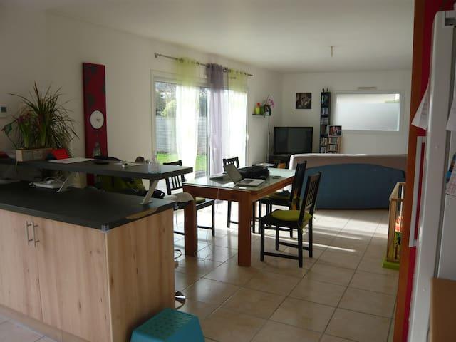 maison familiale proche du golfe du Morbihan - Pluneret