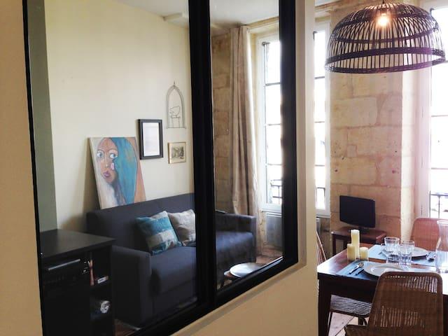 Sur les Quais, charmant appartement - Bordeaux - Apartment