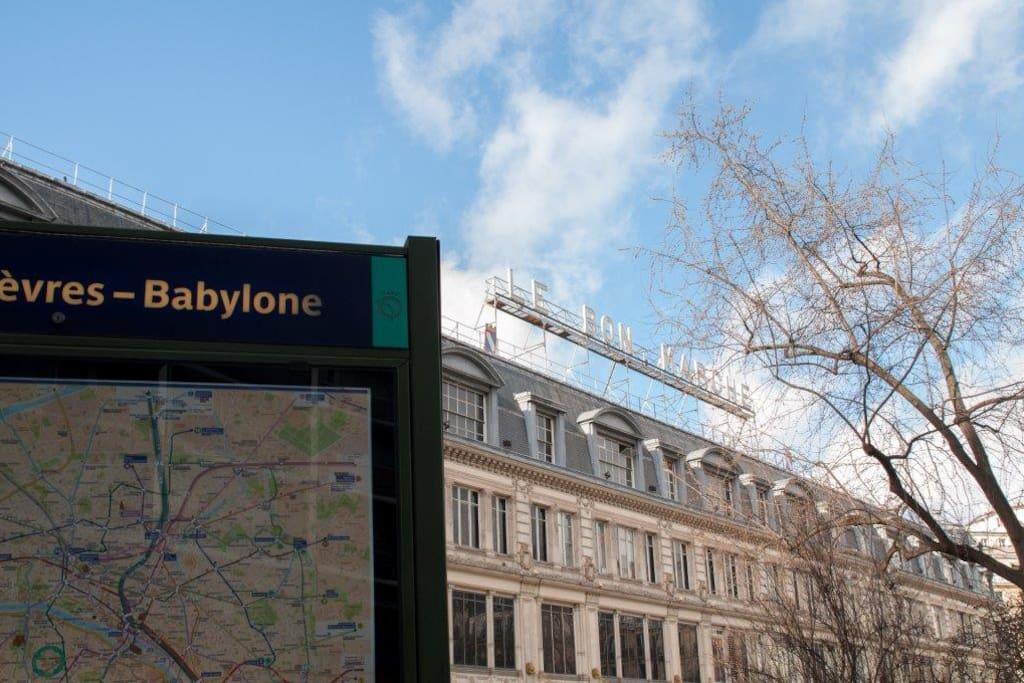 Métro Sevres-Babylone