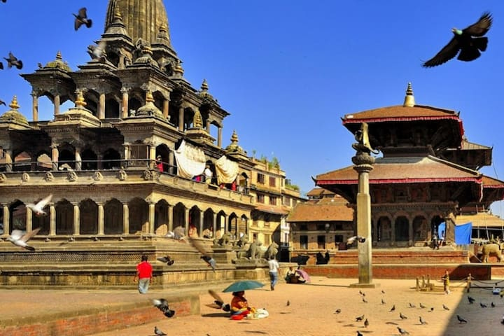 Heritage Space 1BR - 100 meters from Patan Durbar