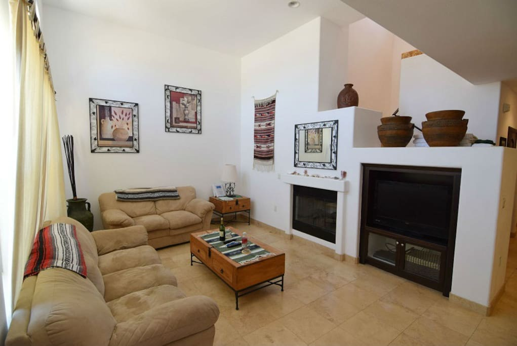 San Felipe vacation rental villa - living room