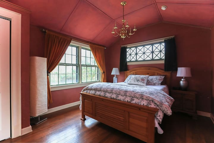 Memory foam, super comfortable bed.