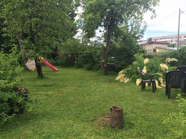 garden place for your tent with WIFI - Pärnu - Zelt