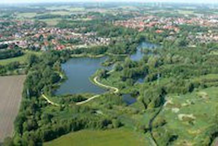 """Tolle Ferienwohnung """"Am Stadtsee""""  - Sulingen"""