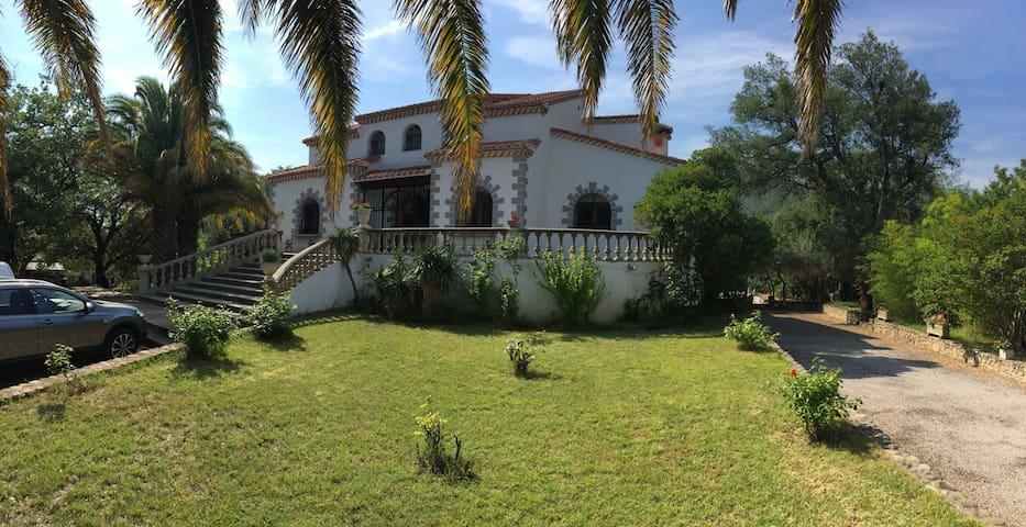 Villa 2,5ha de parc, 5min de la mer - Argelès-sur-Mer - Villa