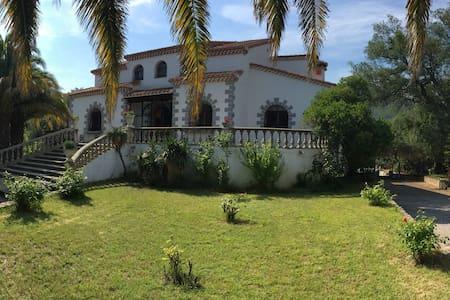 Villa 2,5ha de parc, 5min de la mer - Argelès-sur-Mer