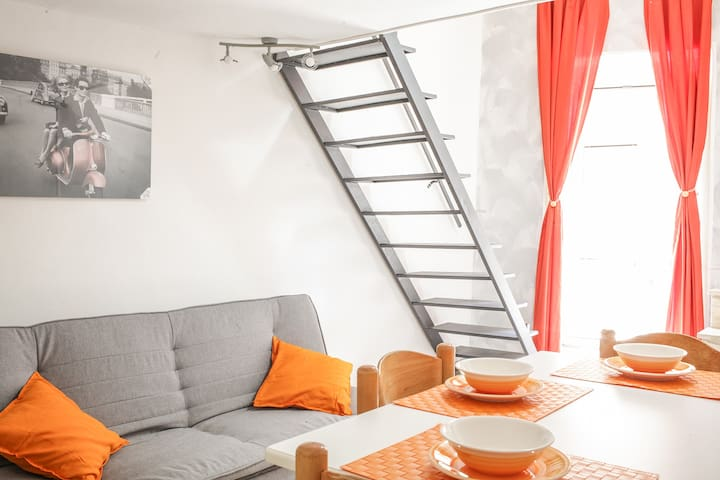 Charming independent apartment + garage - Piazza Armerina - Haus