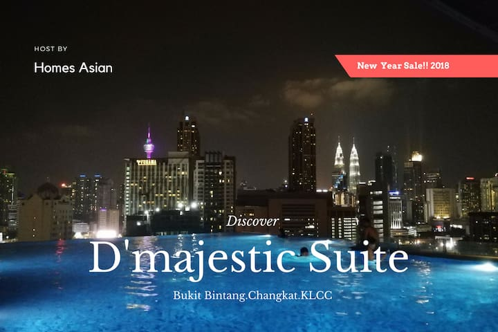 D63 Infinity Pool Executive Suite, Bukit Bintang