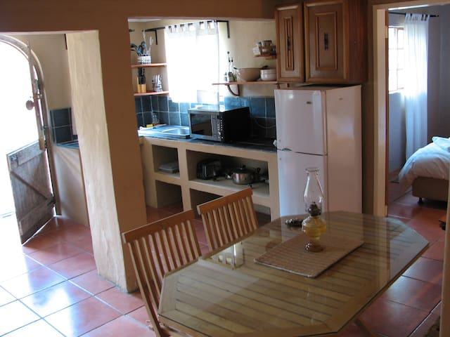Chameleon cute unit tucked away! - Johannesburg South - Apartment
