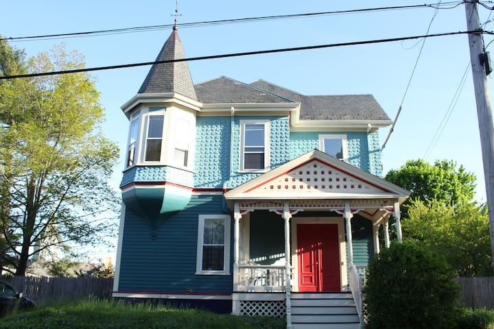 Restored Victorian Home, Historic Elmwood Section