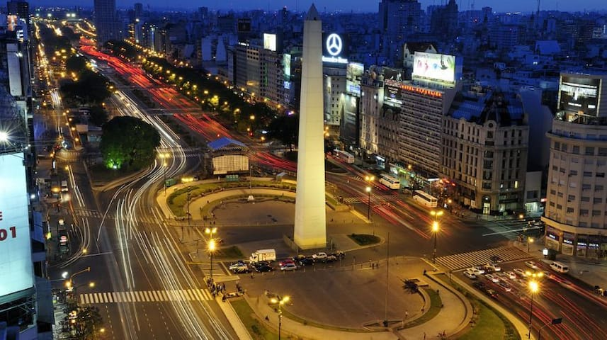 Apartment in the heard of Buenos Aires center 3p