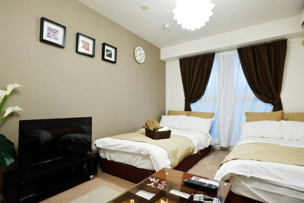 Room 203,the room is not so spacious but very cozy and clean