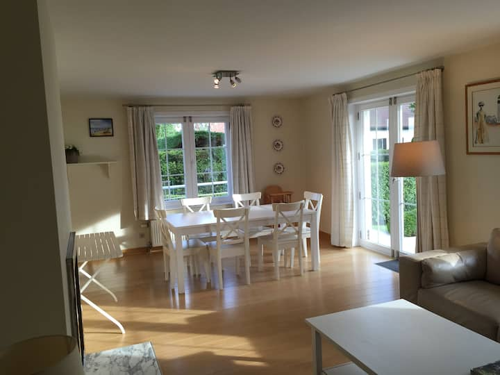 Appart - garden - 50m from the sea
