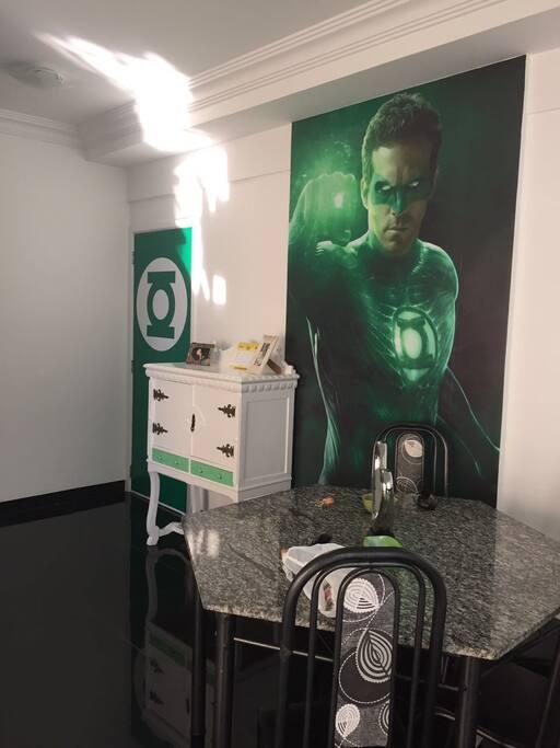 Lanterna verde sala