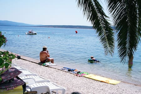 Home Directly On The Beach - Dalmatia - Croatia - Jasenice - บ้าน