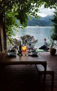 holiday home with lake garden - Sankt Wolfgang im Salzkammergut