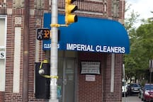 If you need to get your laundry done... Imperial Cleaners just a 3 minute walk away.