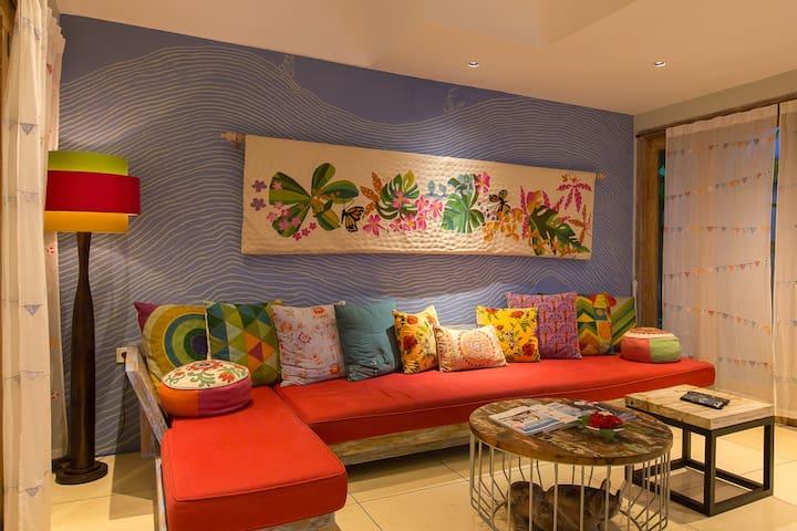 Luxury Tropical Garden 2BR Villa Seminyak #family