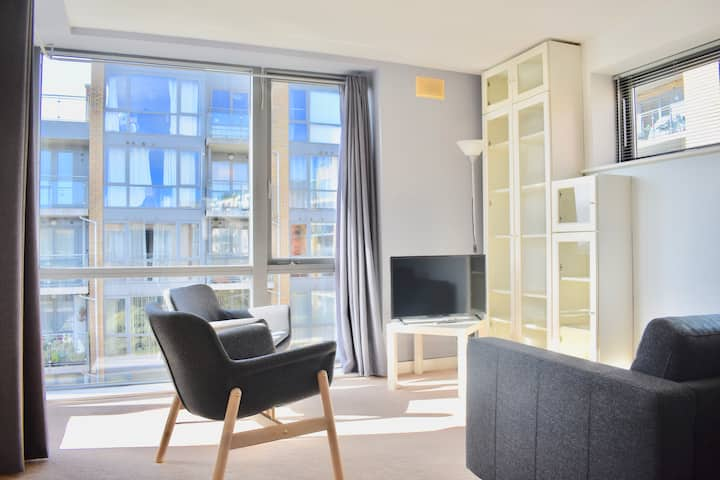Top floor apartment with stunning views, Dublin 8