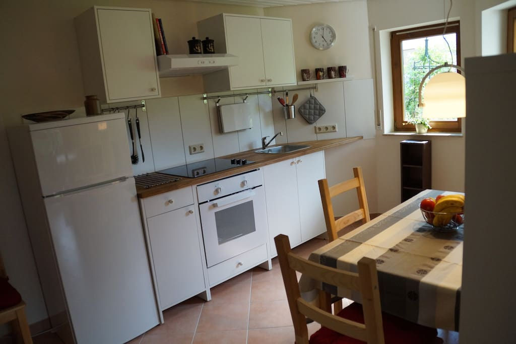 Funktionelle Küche - fully equipped kitchen