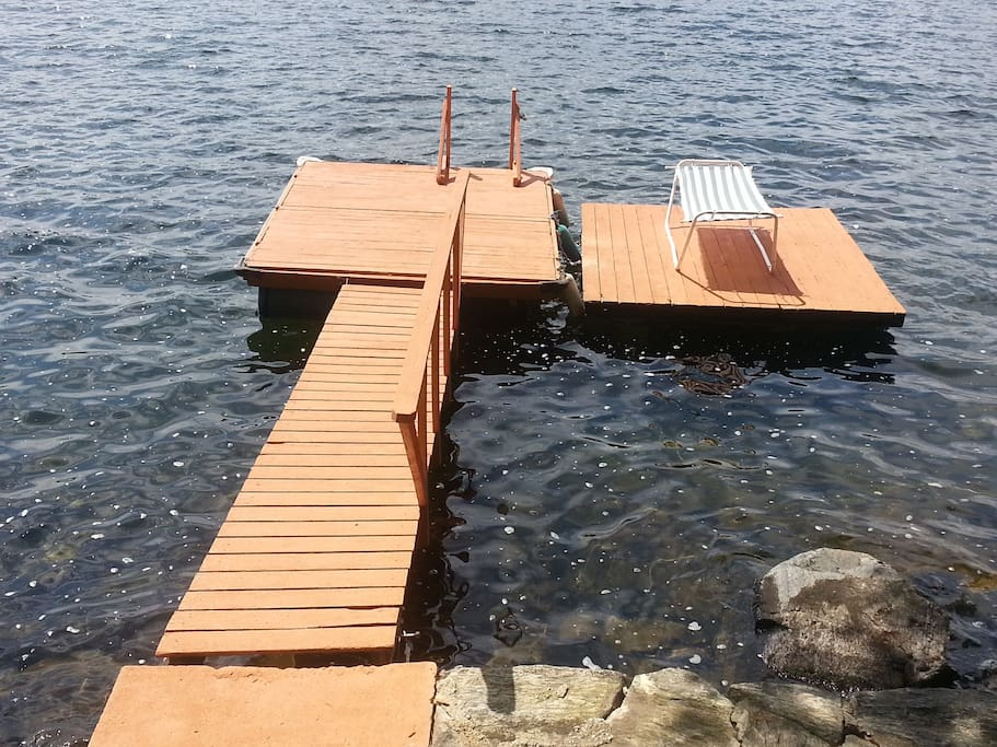 Brand New and Updated Dock! Great for Lounging