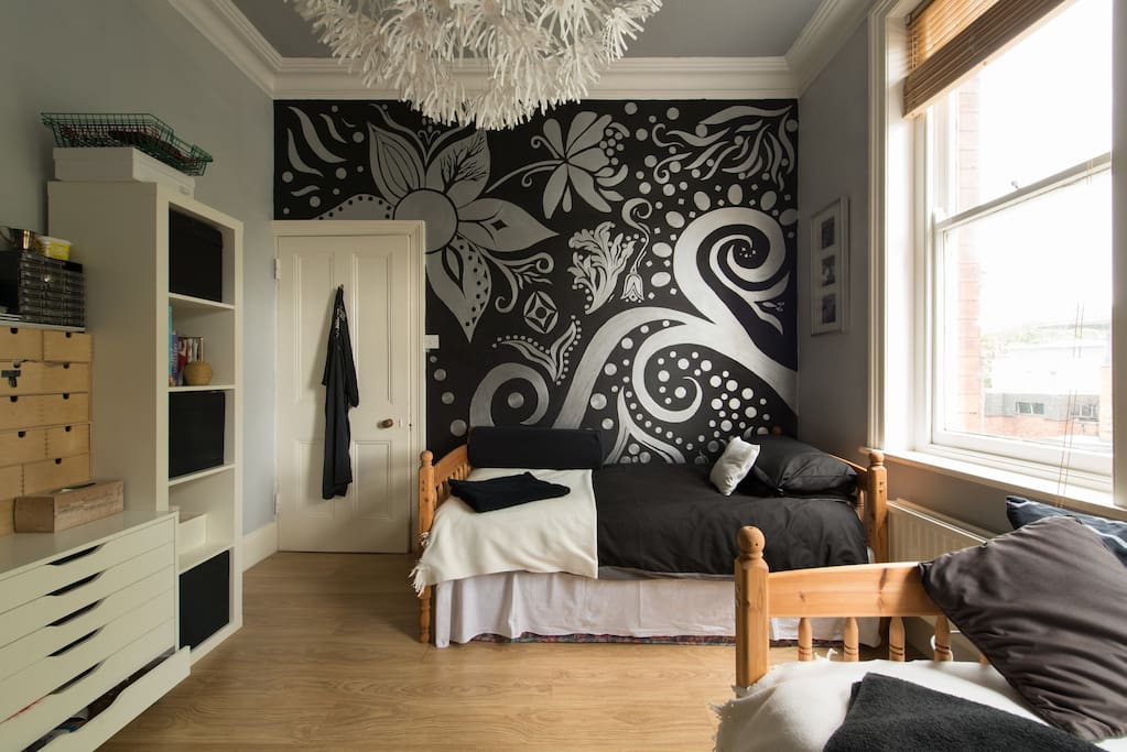 Large, light and airy room