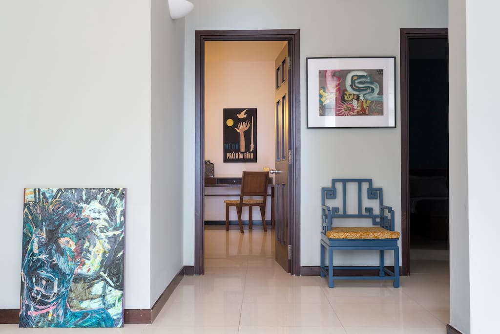 Have a closer look at authentic Vietnamese furniture and artists