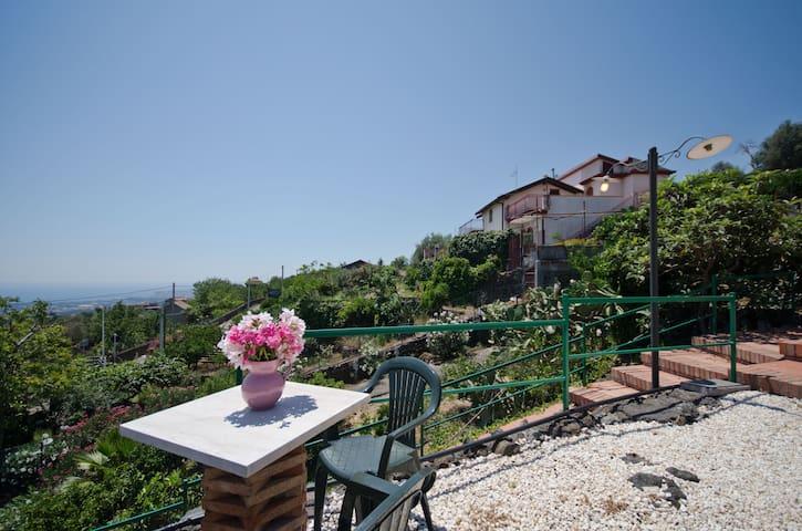 Dependance Villa La Rosa - Sicily - Santa Venera-portosalvo - House