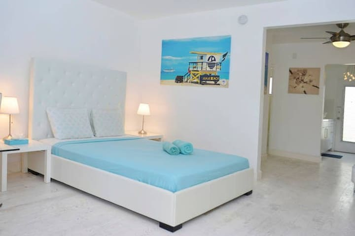 Art Deco Studio Comfortable & Nice - Miami Beach - Lägenhet